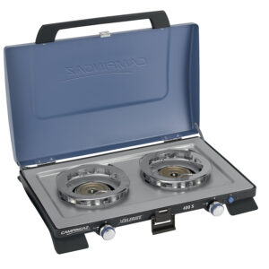 Campingaz Series 400 S Double Burner, Portable Camping Gas Stove