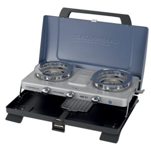Campingaz Series 400 ST Double Burner & Toaster, Portable Camping Gas Stove