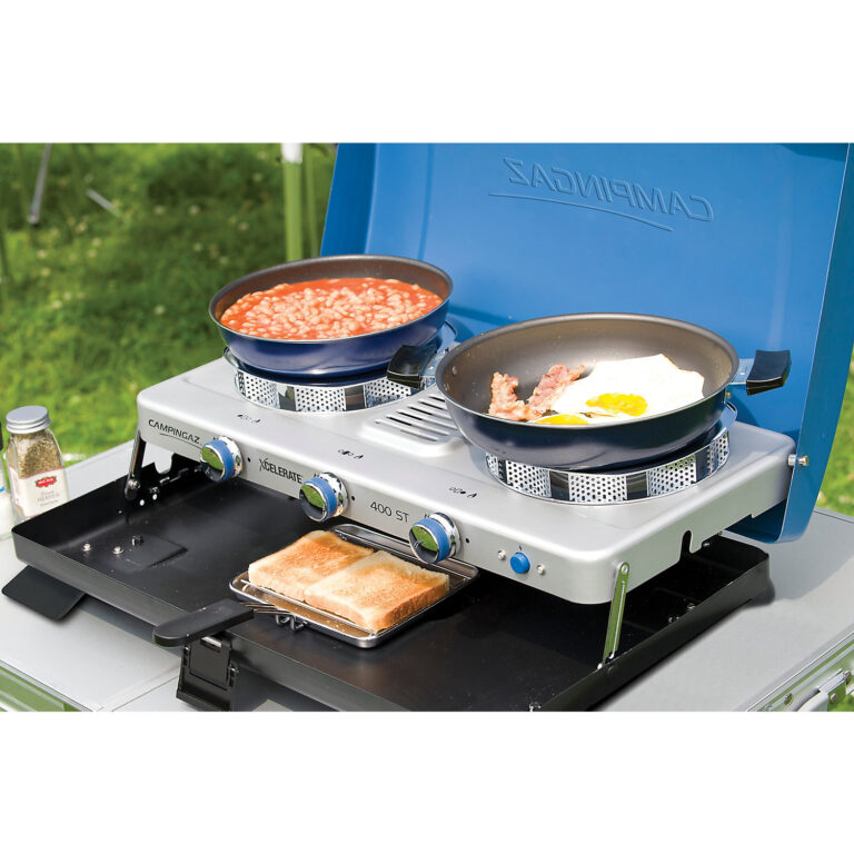 Campingaz Series 400 ST Double Burner & Toaster, Portable Camping Gas Stove image 6