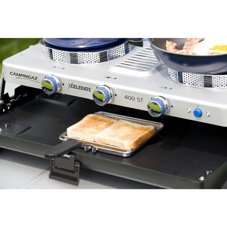 Campingaz Series 400 ST Double Burner & Toaster, Portable Camping Gas Stove image 5