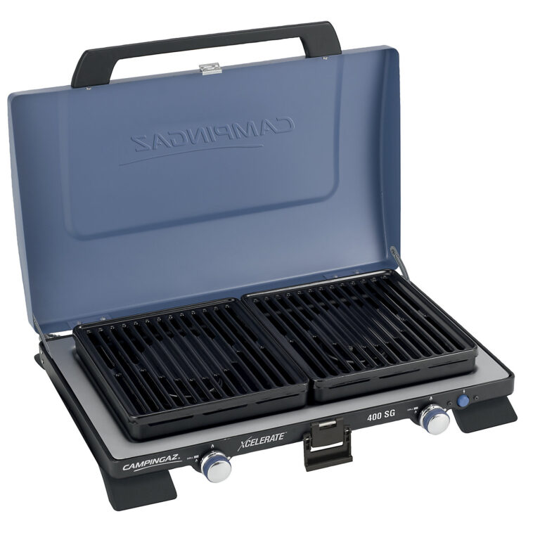 Campingaz Series 400 SG Double Burner & Grill, Portable Camping Gas Stove image 3