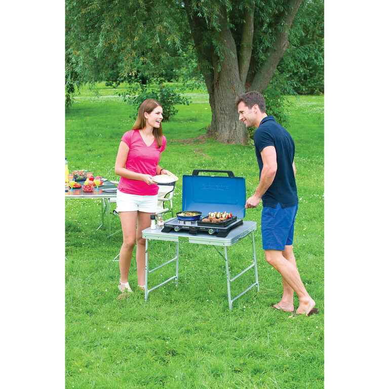 Campingaz Series 400 SG Double Burner & Grill, Portable Camping Gas Stove image 2