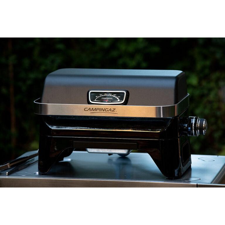 Campingaz Attitude 2Go Table Top Gas BBQ, Compact Portable Gas Barbecue image 3