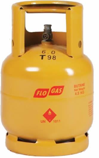 4.5kg Butane Gas Cylinder image 1