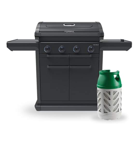 Campingaz 4 Series Onyx S Gas BBQ with 10kg Gaslight image 1