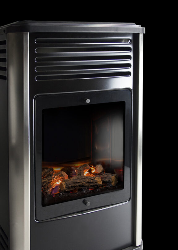 Portable Manhattan Living Flame Heater image 3