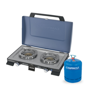 Campingaz Series 400 S Double Burner with Campingaz Bottle
