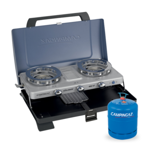 Campingaz Series 400 ST Double Burner & Toaster with Campingaz Bottle