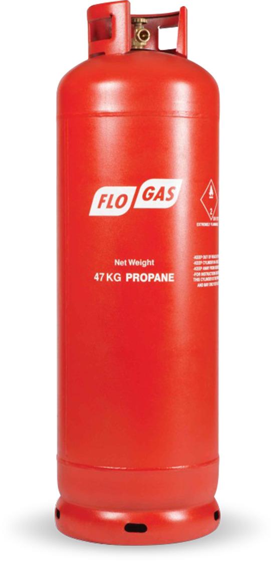 47kg Propane Gas Cylinder image 1