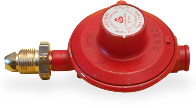 4kg/Hr 37mbar Propane Regulator 3/8