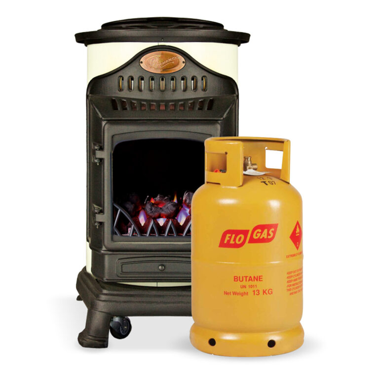 Portable Provence Living Flame Heater with 1 gas cylinder image 1