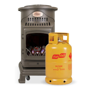 Provence Living Flame Heater  with 1 gas cylinder