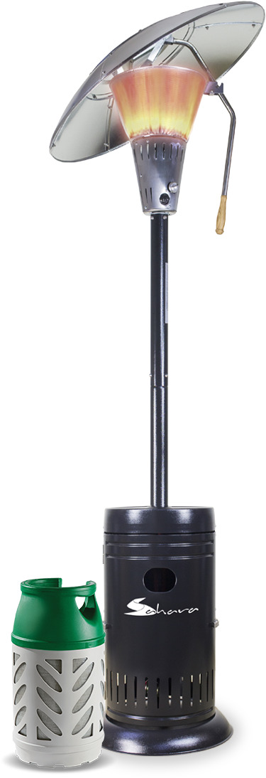 Sahara Heat Focus 13kw Patio Heater  with 1 Gaslight Cylinder image 1