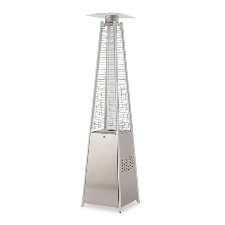 Real Glow Flame Tower Heater image 1